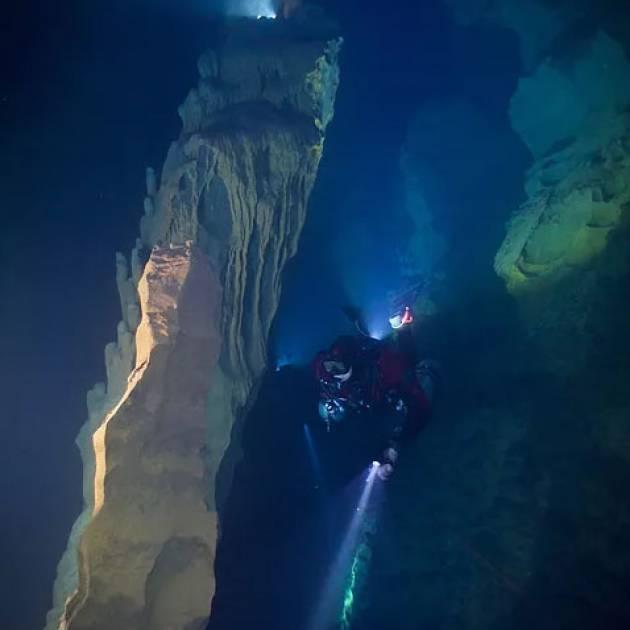 Esplorazione di grotte subacquee in Cina – SCKPP