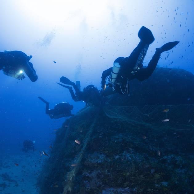 Reti fantasma: un problema che unisce pescatori e subacquei